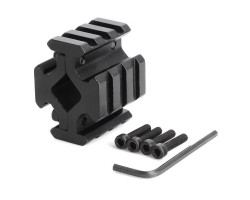 Bracket Tri-Rail Barrel Mount MNT-BR009