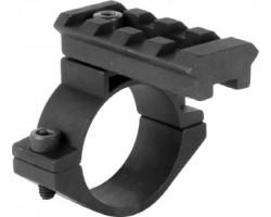 Адаптер пикатинни на трубу 25 мм