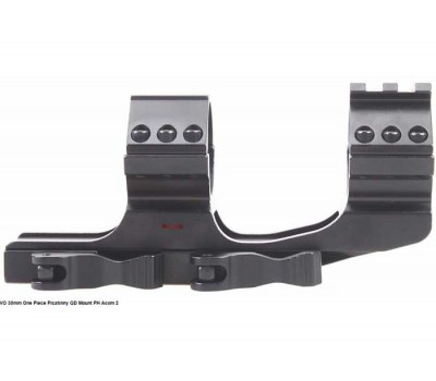 30mm One Piece Quick Release Picatinny High Mount