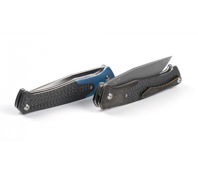 Складной нож Amare Track Linerlock Blue (201809) CPM S35VN