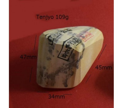 Натуральный точильный камень Mikawa White Nagura Tenjyo (天上) с печатью Asano