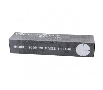 Оптический прицел Vector Optics Matiz 4-12x40SFP SCOM-29