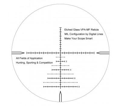 Оптический прицел Vector Optics Marksman 6-24x50FFP SCFF-26