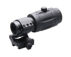 3x Magnifier w/ Flip Side Mount VO SCOT-07