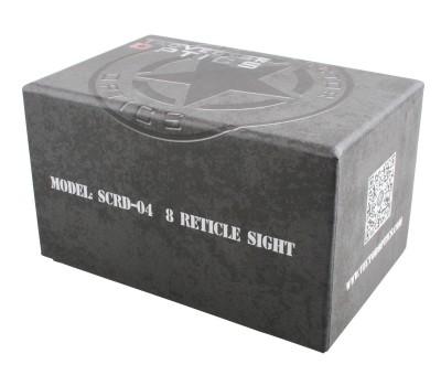 Vector Optics 1x27x39 Omega Tactical 8 Reticle Red & Green Dot SCRD-04