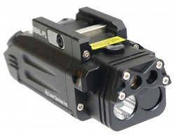 Dual Beam Aiming Laser Pistol Light DBAL-PL