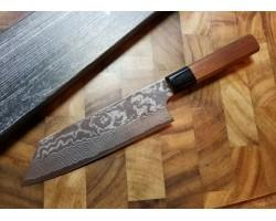 Etsu (Ittetsu) R2 Damascus Bunka нож 165мм