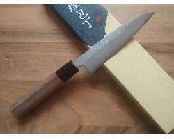 HONMAMON Дамасская сталь, Aogami #2  нож Paring 120 мм