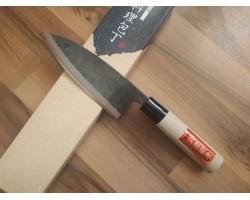 HONMAMON, Tosa Kurouchi, Aogami #2 нож (Deba) 150 мм