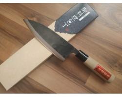HONMAMON, Tosa Kurouchi, Aogami #2 нож (Deba) 165 мм