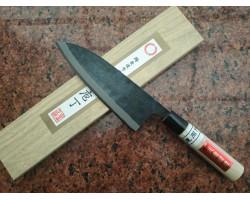 HONMAMON, Tosa Kurouchi, Aogami #2 нож (Deba) 180 мм