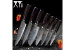 Китайские кухонные ножи XYj дамаск