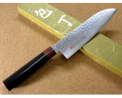 Iseya I-series VG-10 Damascus Chef (Santoku) 180mm