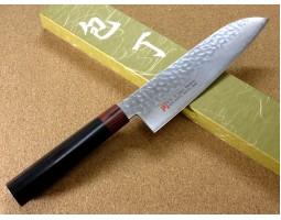 Iseya I-series VG-10 Damascus Chef (Santoku) 180mm