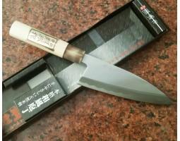 Teruhide Deba нож Carbon steel  150 мм