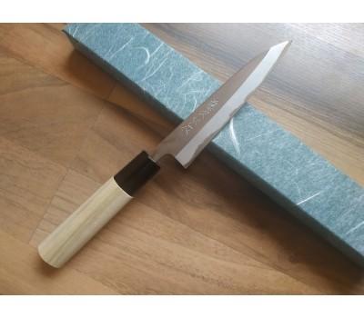 Tojiro Shirogami  Kasumi  - Нож петти, 3 слоя, углеродистая сталь, клинок 120 мм, Япония