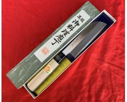 Tanaka Kamagata Usuba нож Super Blue Steel 150mm
