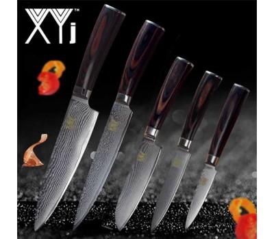 Набор кухонных ножей XYj 5 шт v2