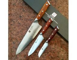 Набор кухонных ножей Xinzuo Yu 3 шт