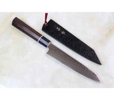 ZUIUN 9301 - Поварской нож из дамасской стали с клинком 150 мм. Kanetsugu, Япония