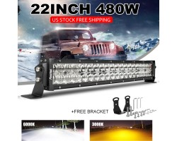 480W 22 inch CREE LED Work Light Bar