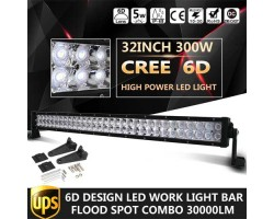 "LED Chandelier 32 ""300W 6D CREE Direct"