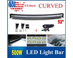 "Chandelier LED 52 ""500W CREE Curved Bar"