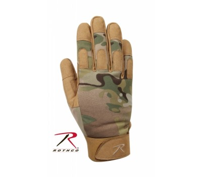 Перчатки Rothco Lightweight All Purpose Duty - MultiCam