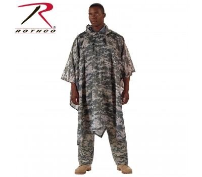 Накидка пончо Rothco G.I. Type Military Rip-Stop