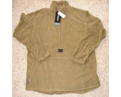 USMC Pullover Fleece Polartec 100 Coyote Brown