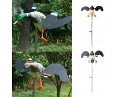 Утка с машущими крыльями с електроприводом и ДУ