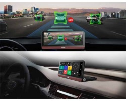 "Видеорегистратор 8""Android 5.1 GPS Navi Wi-Fi ADAS Bluetooth"