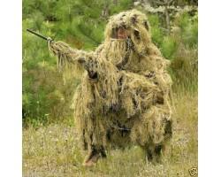 Camouflage suit Ghillie Suit - Desert