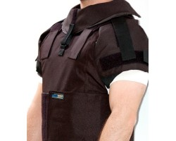 Shoulder protection for body armor BA8000