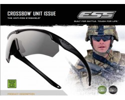 Safety glasses ESS Crossbow (2 glasses)