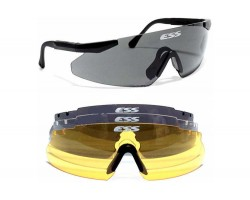 Safety glasses ESS Ice 2.4 + ™ (3 glasses)