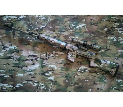 Камуфляжная плёнка для оружия и транспорта Camoclad 3М Мультикам 15*150 cм