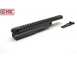 Cover with Picatinny rail for carbines based on AK third generation