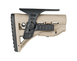 Adjustable cheek with picatinny FAB for buttstock GLR 16
